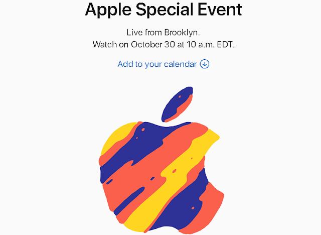 أبل تؤكد حدث iPad Pro في 30 أكتوبر. وتبدأ بإرسال الدعوات