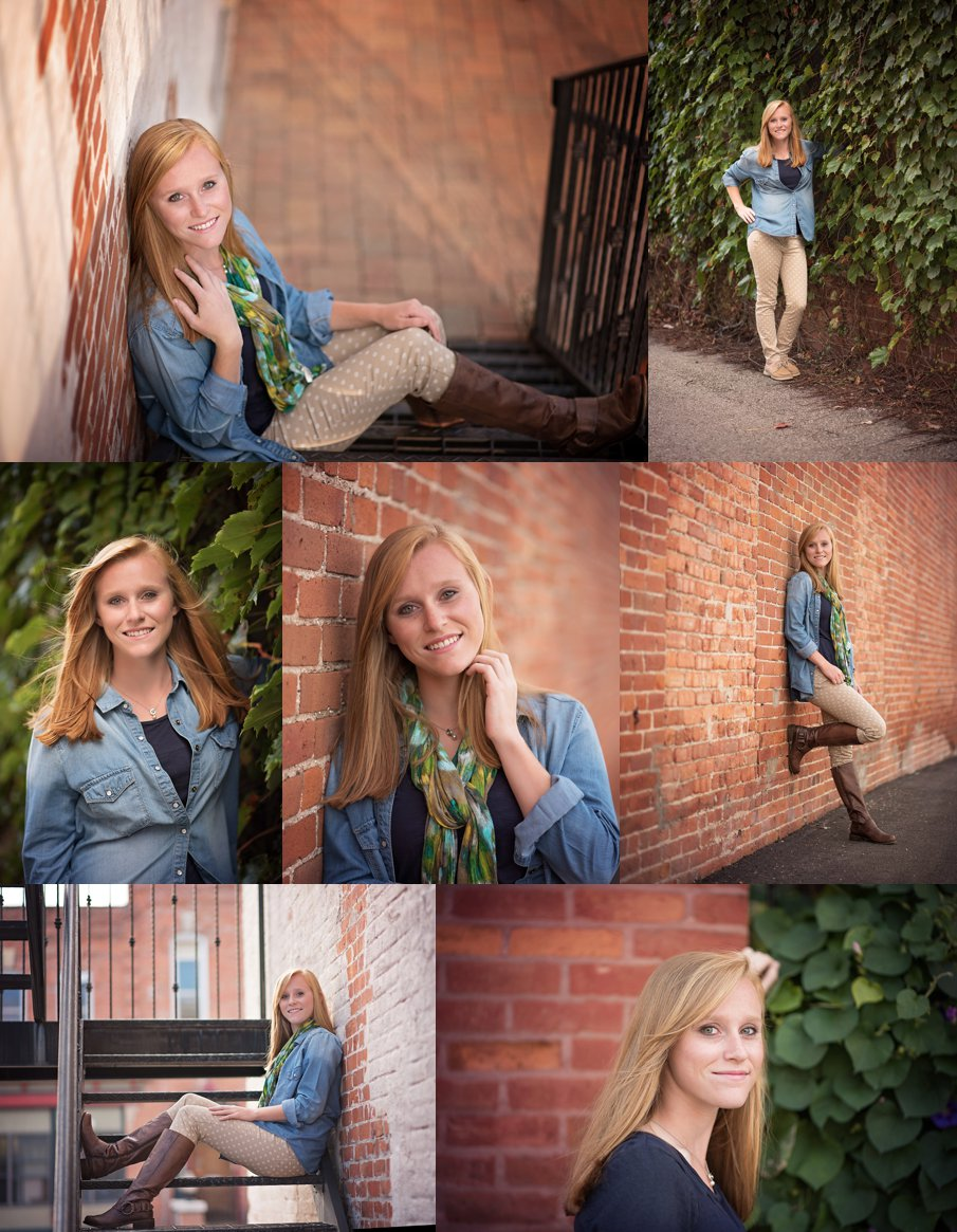 Senior in High School Senior Pictures near DeKalb Sycamore IL