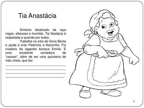 Tia Anastácia Sítio do Picapau Amarelo