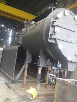 3 Pass Water Wall Membrane type Boilers(Combitherm)