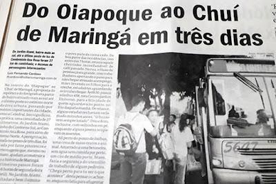 Maringá 61 anos – O Diário. Café com Jornalista