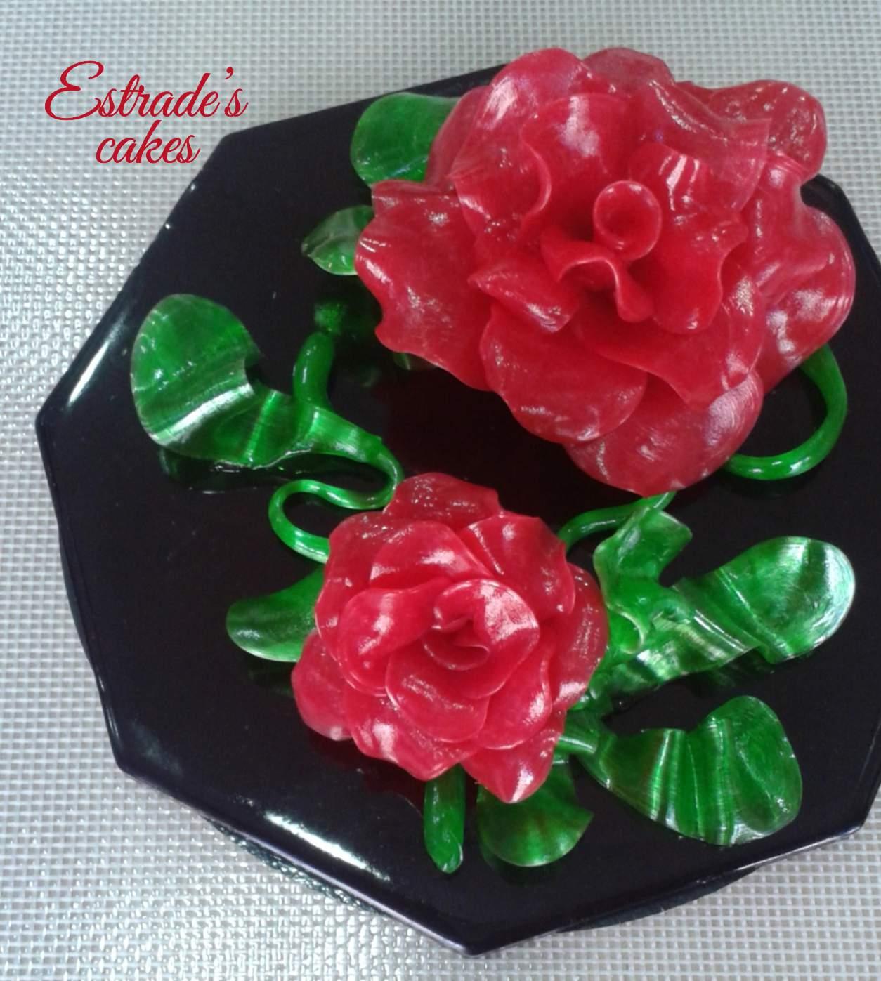 curso de isomalt con Maytarta-rosas