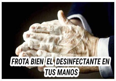 5 errores que quizás estás cometiendo con el desinfectante de manos