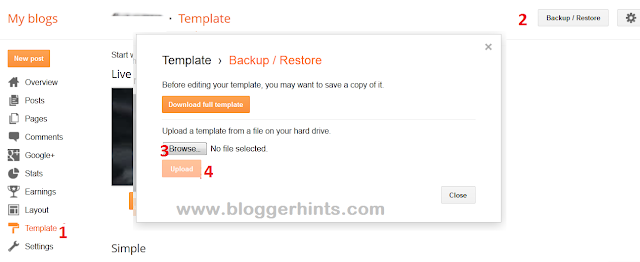 Complete  Seo Blog Blogger Template