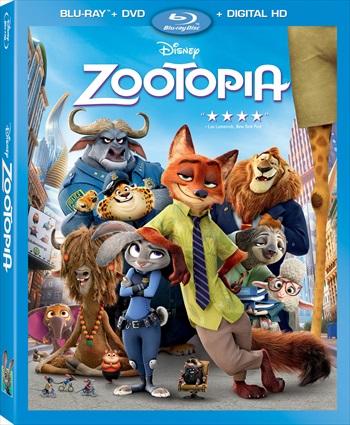 Zootopia 2016 English 480p BluRay 300MB ESubs