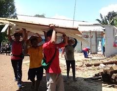 PMI Batang Bantu Rehab  RTLH Dan Berikan Bantuan Rumah Rusak Akibat Bencana Alam