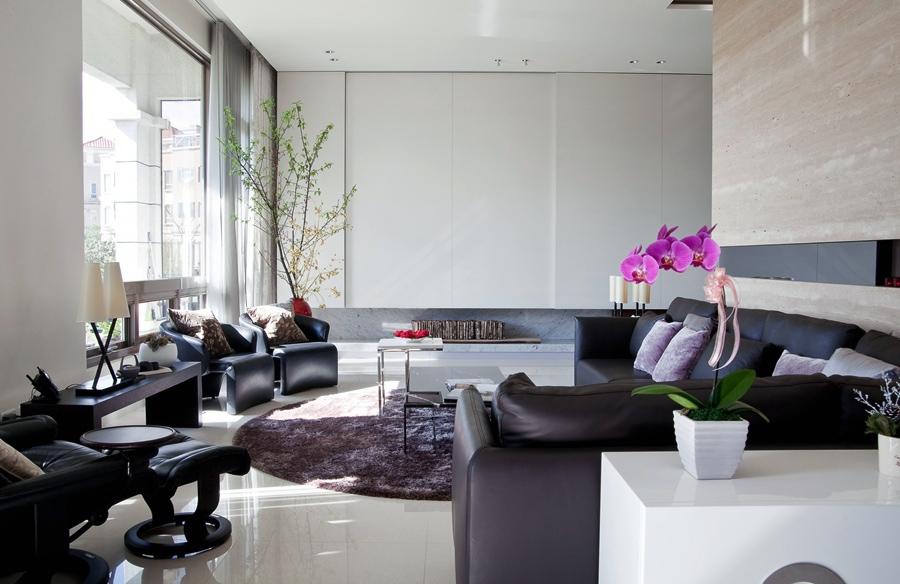 Lyse moderne stuer   interiør inspirasjon