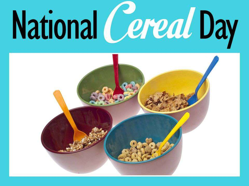 National Cereal Day Wishes Sweet Images