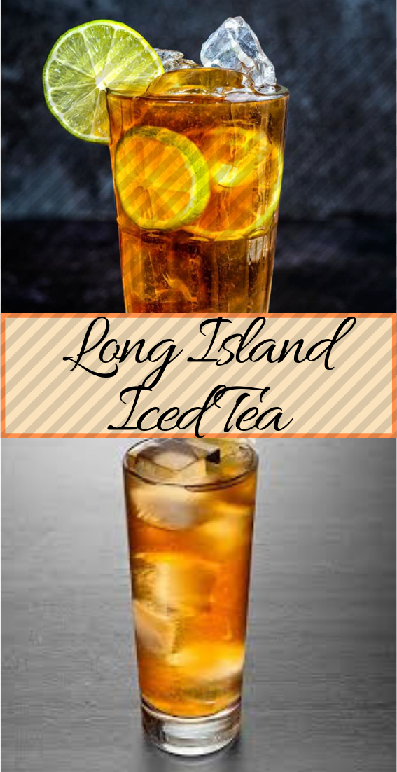 LONG ISLAND ICED TEA  #healthydrink #easyrecipe #cocktail #smoothie