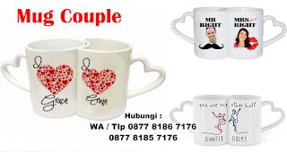 Mug Couple merupakan salah satu ide hadiah kejutan untuk kekasih
