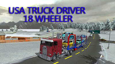 USA truck driver: 18 wheeler Mod Apk Download