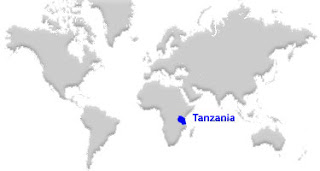 image: Tanzania Map location