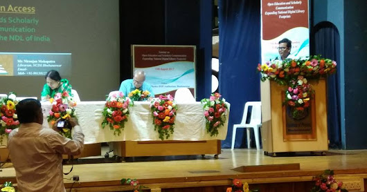 "Presented a paper on ""Open Access towards Scholarly Communication through the NDL of India"" in the Odisha Library Academy (OLA) seminar during the Celebration of National Librarian's Day and #OLA 2nd Annual Foundation Day at Institute of Physics, Bhubaneswar"
