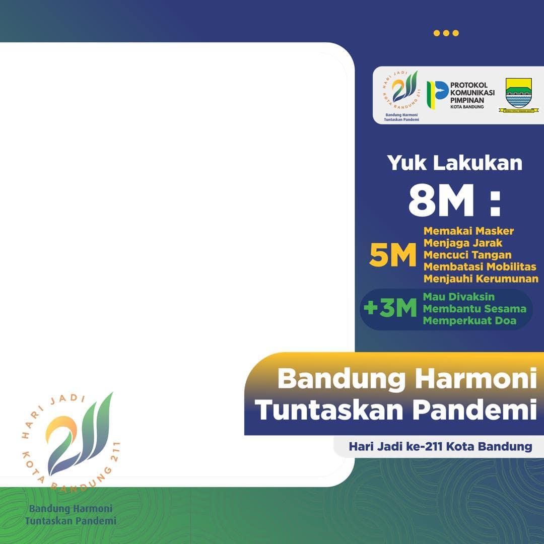 Link Bingkai Foto Twibbon Selamat Hari Jadi ke-211 Kota Bandung Tahun 2021