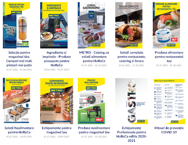 METRO cataloage-brosuri Iulie 2021