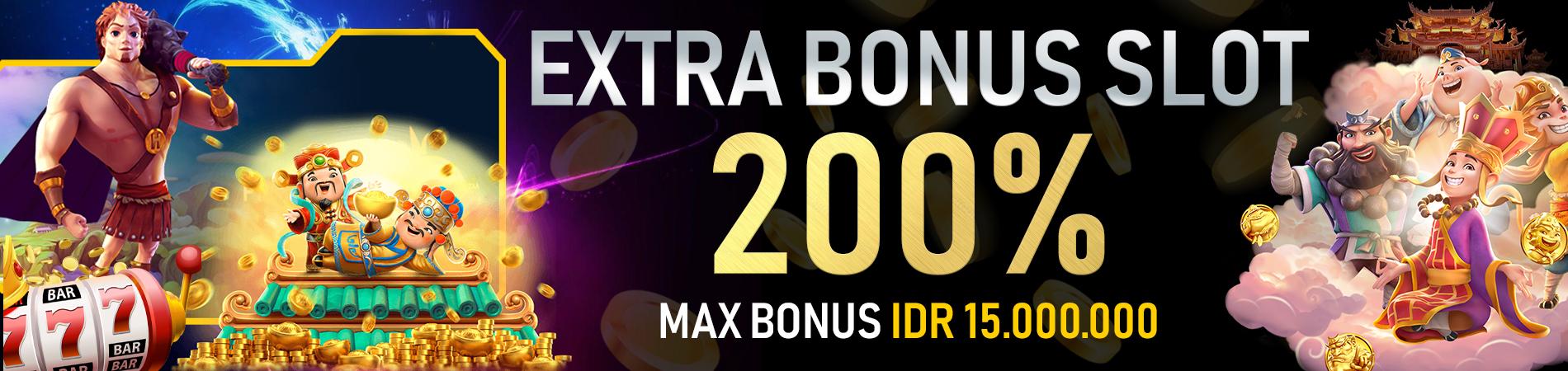 Promo Bonus Slot 200%