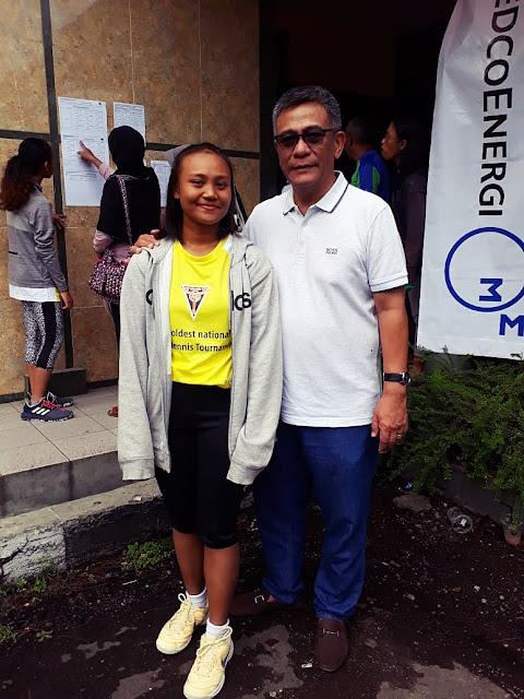 Didukung Muzukha Sport, Petenis Kota Kediri Berlaga di Kejurnas Tenis Yunior Fiks Bandung