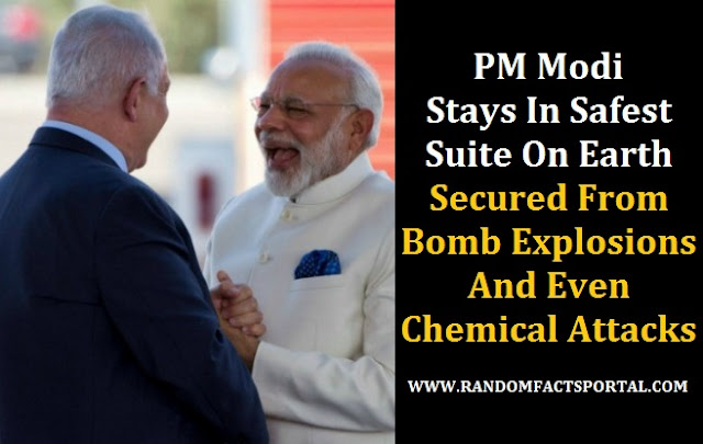 PM Modi Stays In Safest Suite On Earth, Secured From Bomb Explosions And Even Chemical Attacks
