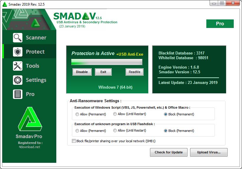 Smadav Pro 2019 Rev. 12.7 Full version