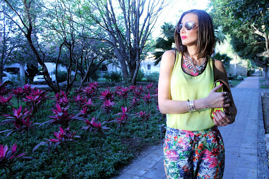 Look of the day: Floral blossom