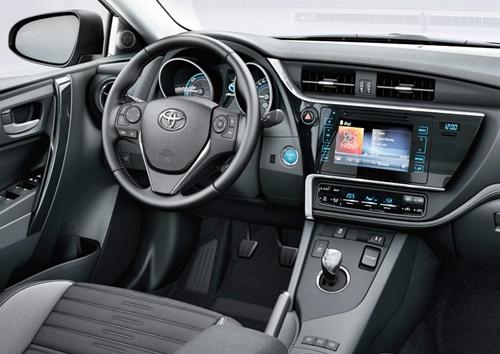New All Interior Concept Black Pearl Toyota Auris Hybrid