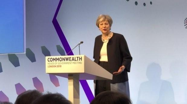 Theresa May 'deeply regrets' UK's colonial anti-gay laws