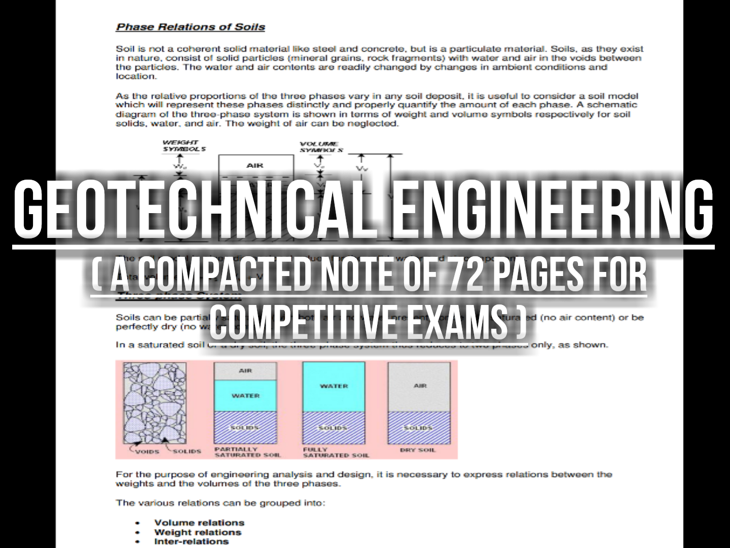 Geotechnical Engineering Notes The Civil Engineer Blogger