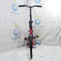 16 United Trifold Aloi 1Sp Sepeda Lipat