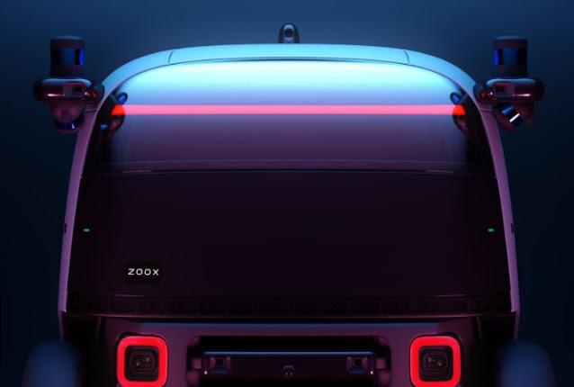 Desain depan mobil ZOOX