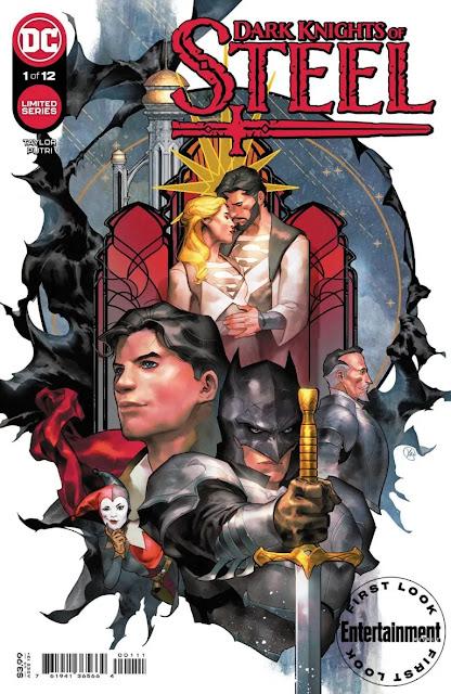 DC Comics revela la serie limitada 'Dark Knights of Steel'.