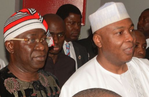Image result for FG withdraws forgery charges against Saraki, Ekweremadu