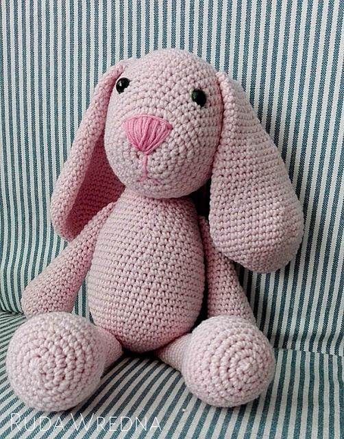 amigurumi bunny, szydełko, szydełkowe króliki, amigurumi, królik na szydełku