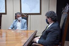BRASIL-Fernando Monteiro conversa com ministro sobre recuperação da BR-232 e pista do Aeroporto de Fernando de Noronha