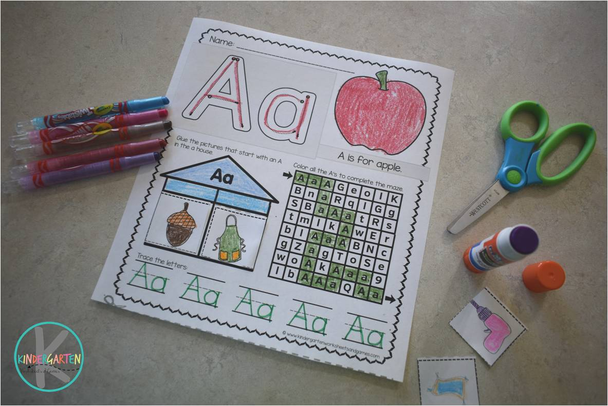 Free Alphabet Worksheets Kindergarten Worksheets And Games