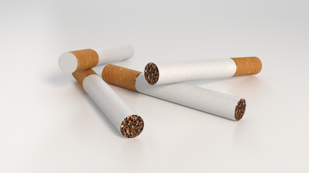 Free Cigarettes Model Vray C4D Textured | C4D Vray Source