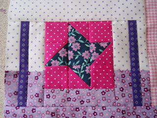 "Finished 4"" Friendship Star ..... Yay!"
