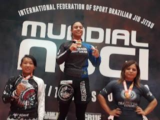 """Daniele Kaori sagra-se Vice Campeã no Campeonato Mundial de Jiu Jitsu  2019 NO GI"""""""