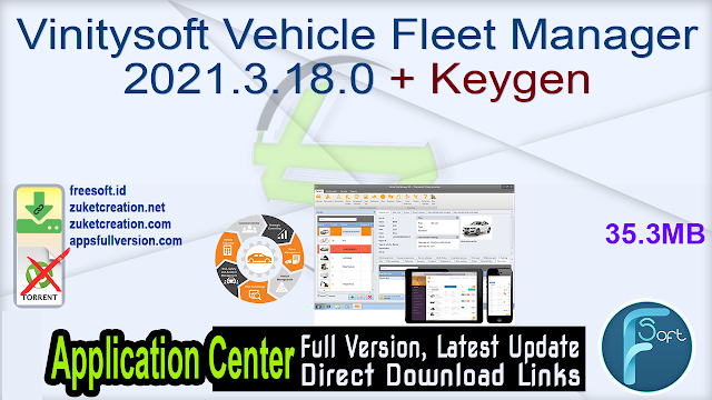Vinitysoft Vehicle Fleet Manager 2021.3.18.0 + Keygen