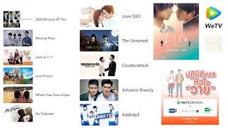 Aplikasi nonton drama Korea WeTV