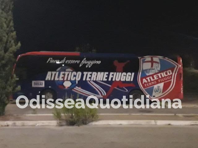 Potenziamenti linee Atac: scende in campo anche il bus della società calcistica di Fiuggi
