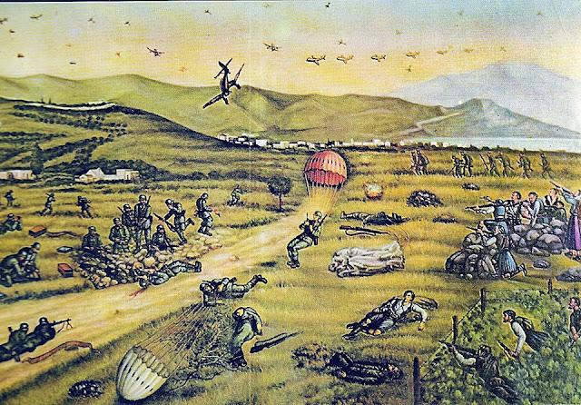 Η Μάχη της Κρήτης - «Ο τάφος των Γερµανών Αλεξιπτωτιστών»