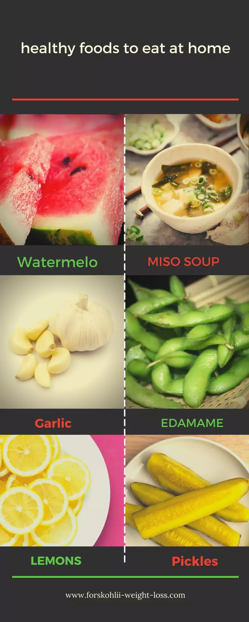 Healthy Foods To Eat at home
