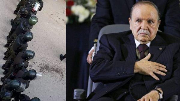 """استنفار أمني أمام مقبرة بالجزائر والجزائريون يتساءلون: """"هل مات بوتفليقة؟"""""""