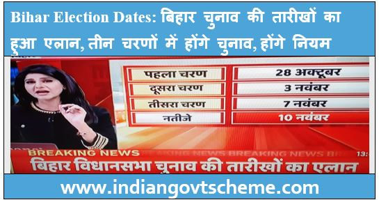 Bihar Election Dates