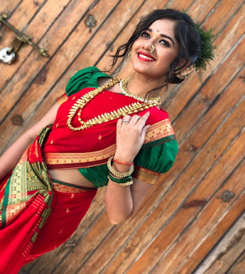 Jannat Zubair Saree Images | hd tv wallpaper | Tiktok wallpaper | actress images in saree