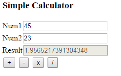 Programming Tutorial: Simple calculator using Javascript - part 2