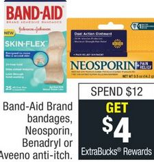 CVS Couponers: Score Band-Aid Tough Strips or Flexble Fabric