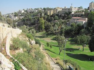Долината Еном до съвременния Ерусалим