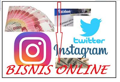 Mencari Uang Lewat Media Sosial Facebook, Instagram dan Twitter