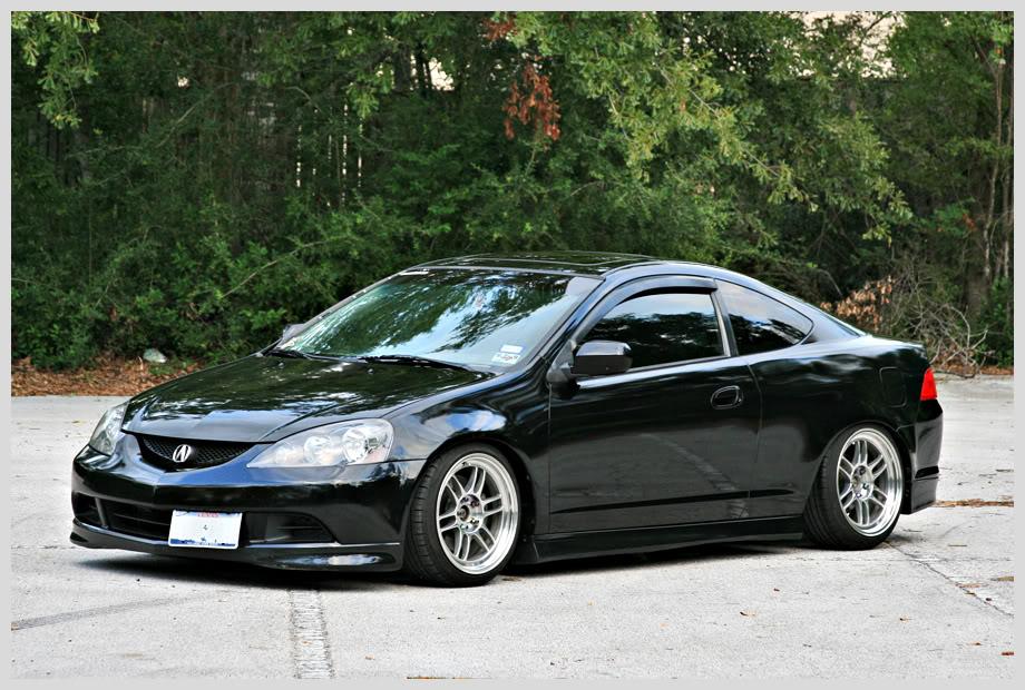 Acura Rsx Black Rims